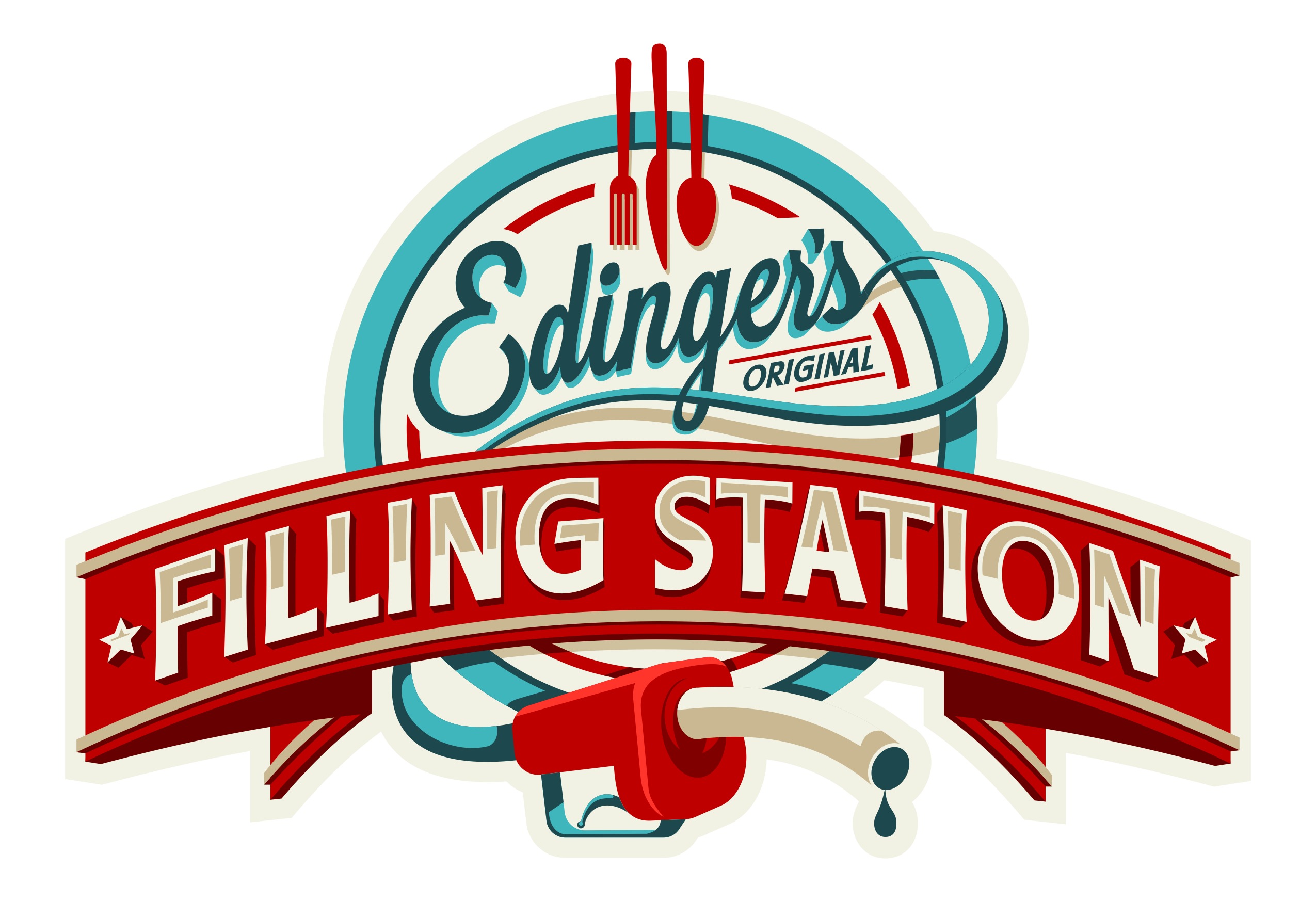 Edinger's Filling Station Home