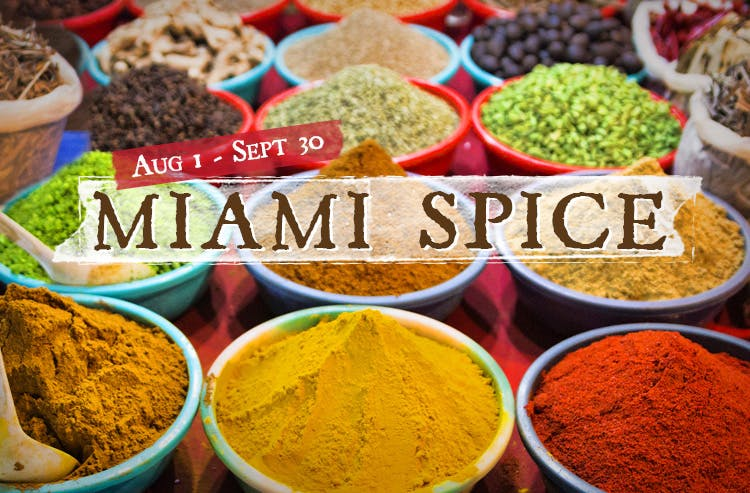 Miami Spice at SUGARCANE raw bar grill! August 1 to September 30