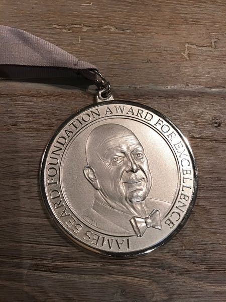 Ortega wins Beard Award