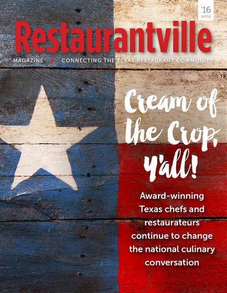 Cream of the Crop Y'all! | Restaurantville magazine Spring 2016