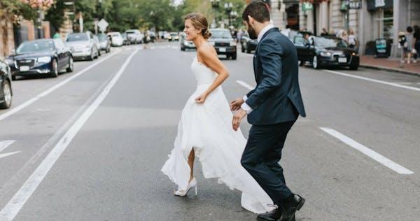 Cambridge Restaurant Wedding - Stephanie & David