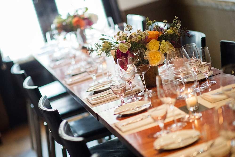 Whether you are hosting an intimate dinner for up to 30 in our private  dining room or a cocktail party for 90  we can accommodate events of every  style at  Hearth Restaurant   NYC. Good Restaurants Nyc For Groups. Home Design Ideas