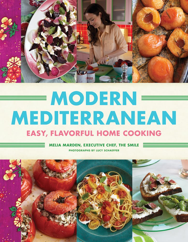 Cover of Modern Mediterranean cookbook