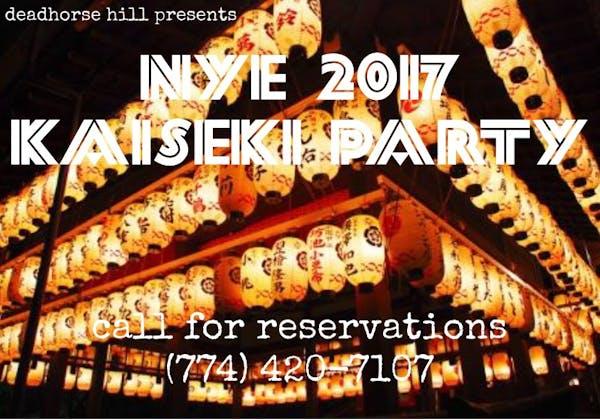 nye 2017 kaiseki dinner