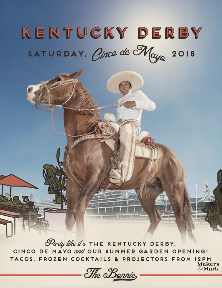 Kentucky Derby Party at The Bonnie - May 5, 12 pm
