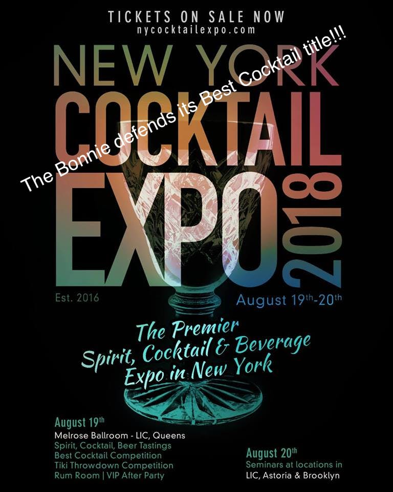New York Cocktail Expo 8/19