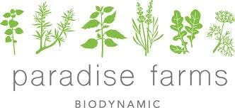 paradise farms biodynamic logo