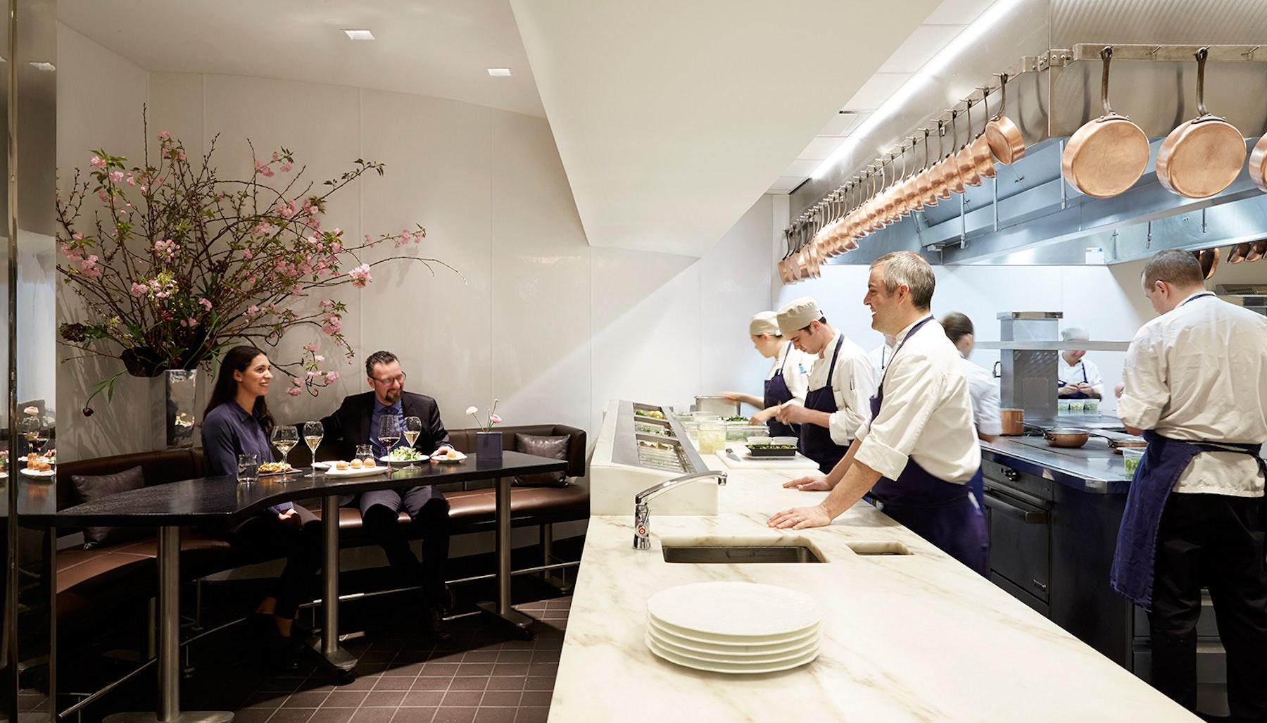 Restaurant Kitchen Table the modern - kitchen table