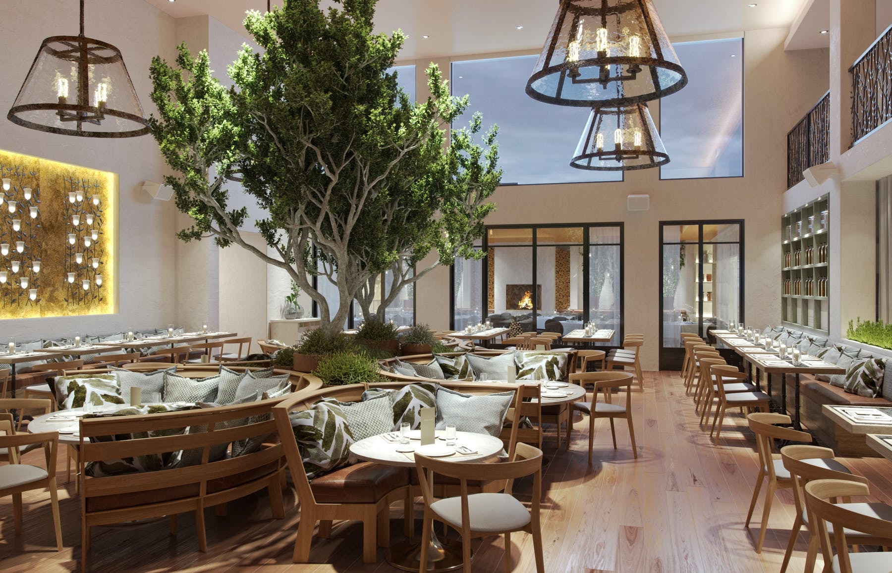 Melrose Place Dining Room