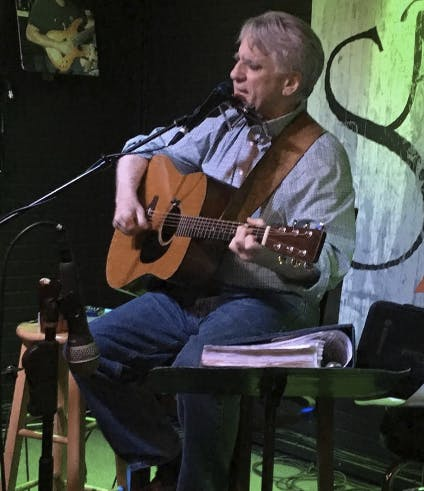 David Orvin Performs Fun Times at Manny's!