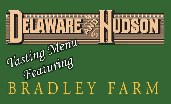 Bradley Farm Fall Dinner at Delaware and Hudson!