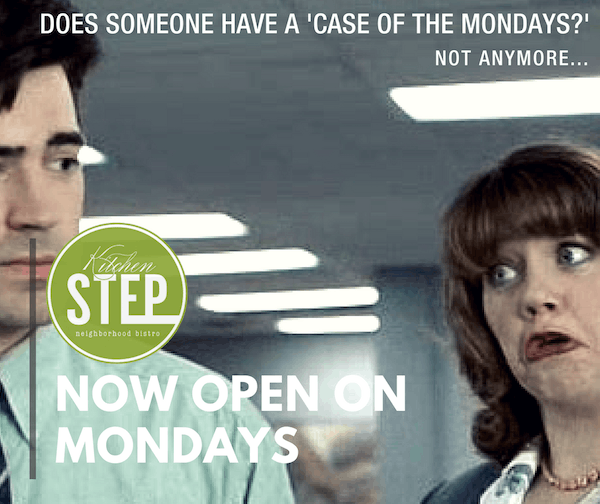 Case of the 'Mondays' Solved: TKS Now Open Seven Days a Week!