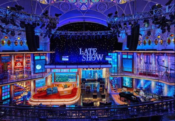 Do You Have Tickets To See Late Night With Stephen Colbert Re In For A Treat Not Just The Funniest Man On Tv But Also Historic Theater Itself