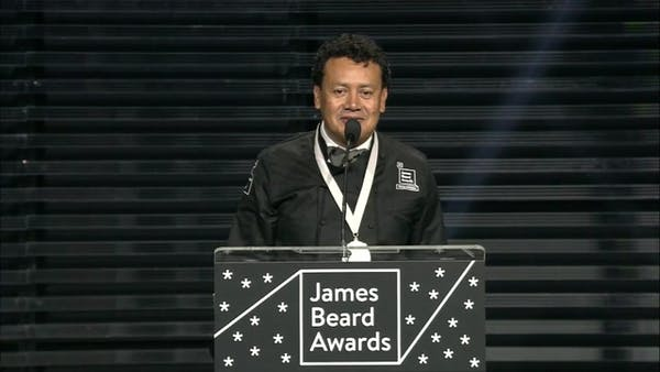 Houston chef Hugo Ortega claims 2017 James Beard Award