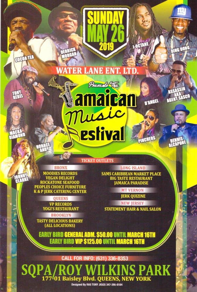 Jamaica Music Festival, featuring Derrick Morgan, Coco Tea, I-Octane, Dennis Alcapone