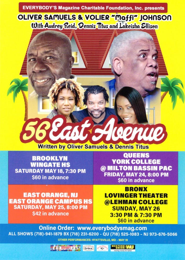 56 East Avenue with Oliver Samuels and Mafi