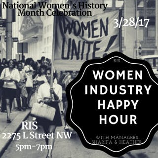 Lady Industry Night at RIS: March 28th