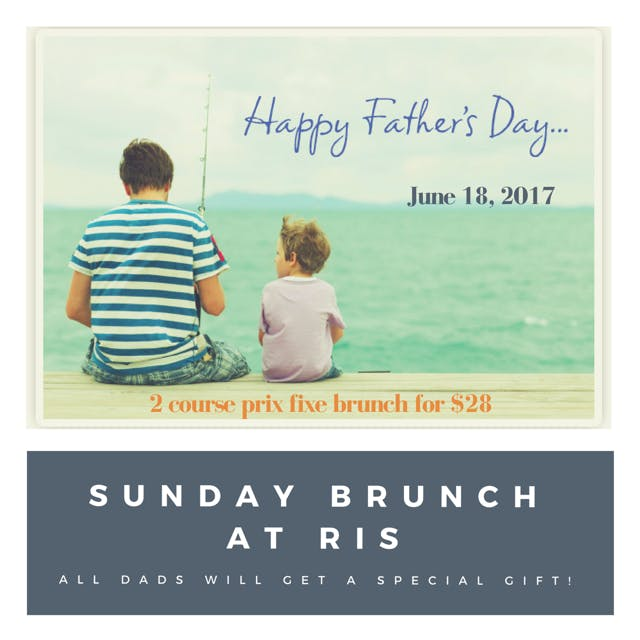 Father's Day Brunch at RIS