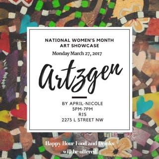Artzgen by April-Nicole Art Showcase: March 27th