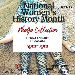 Henna and Art Showcase with Phogo Collection: March 23rd