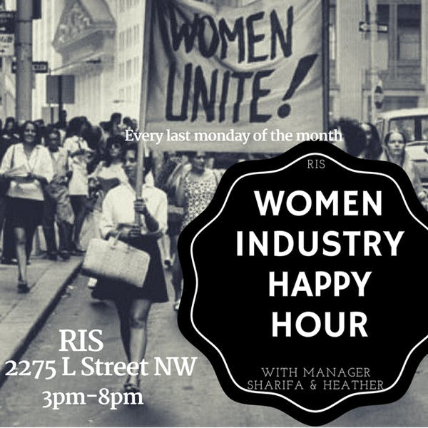 June 26. Women Industry Night!