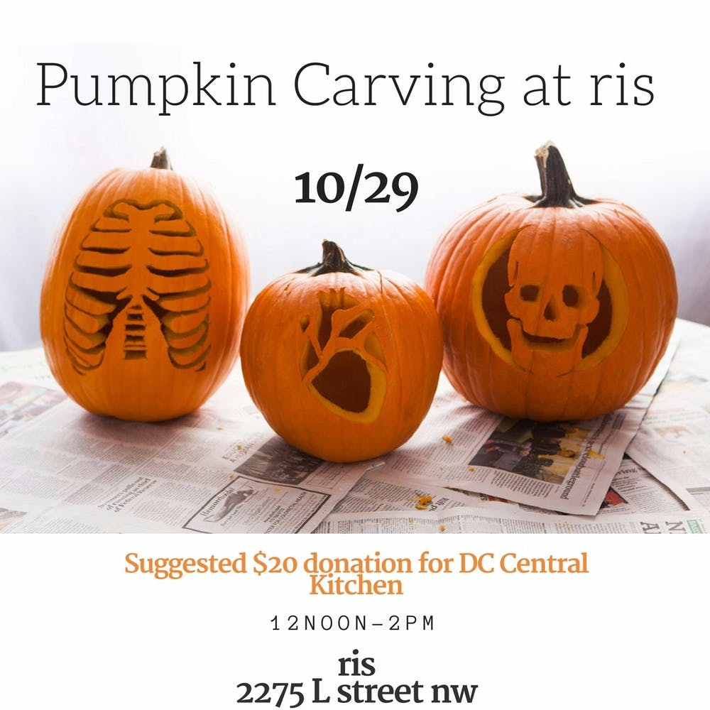 Pumpkin Carving at RIS