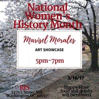 Art Showcase with Marisel Morales: March 16th