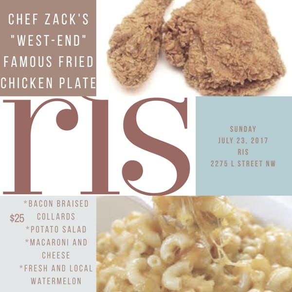 Chef Zack's Fried Chicken Plate
