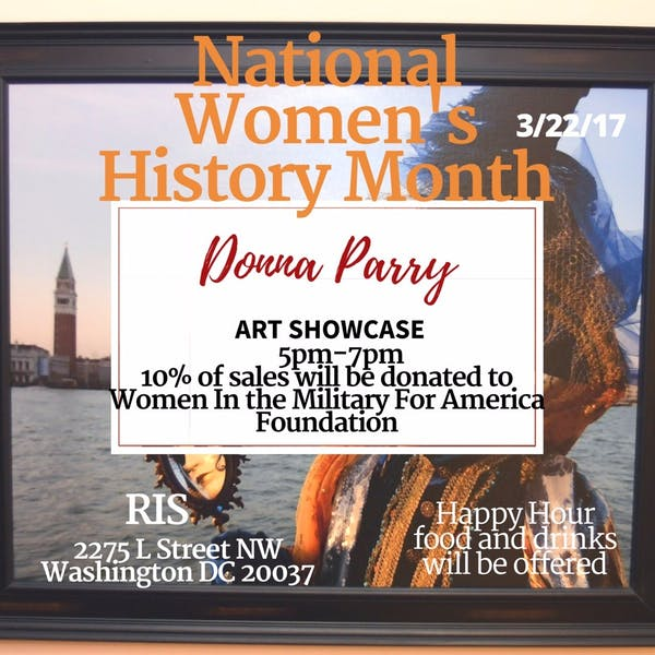 Donna Parry Art Showcase: March 22nd