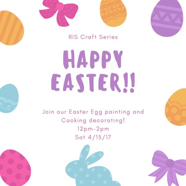 Egg Painting at RIS