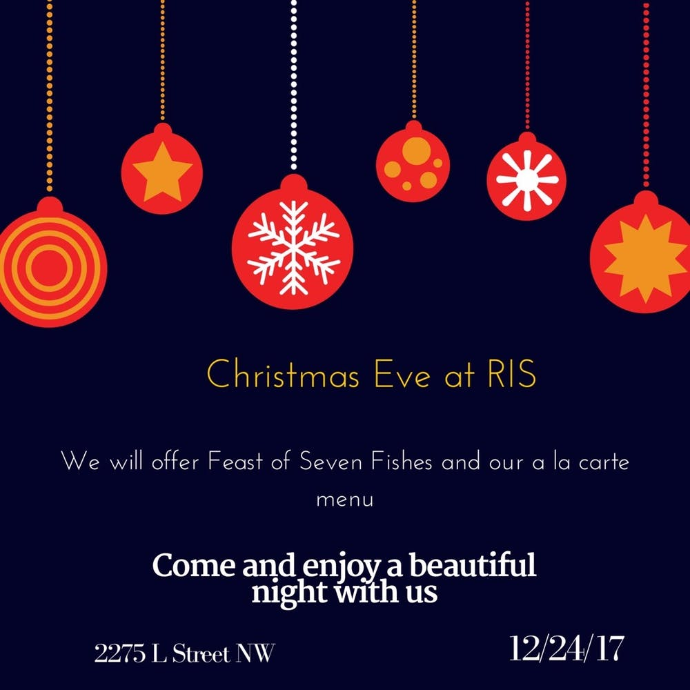 Christmas Eve at RIS