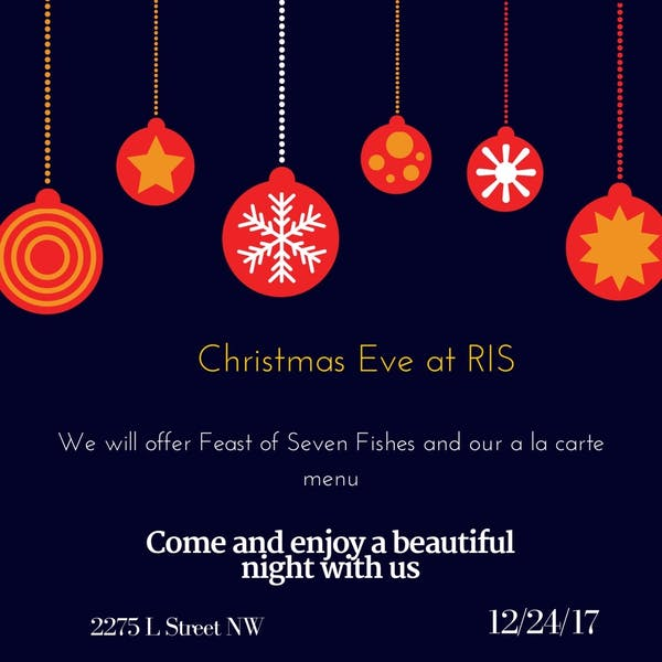 Christmas Eve at RIS