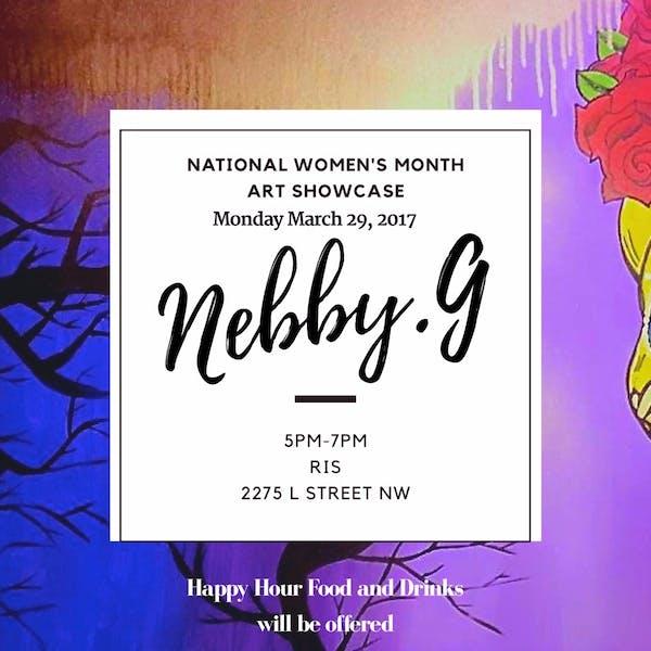 Nebby G. Art Showcase March 29th
