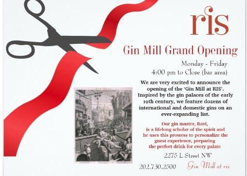 New Gin Mill at RIS