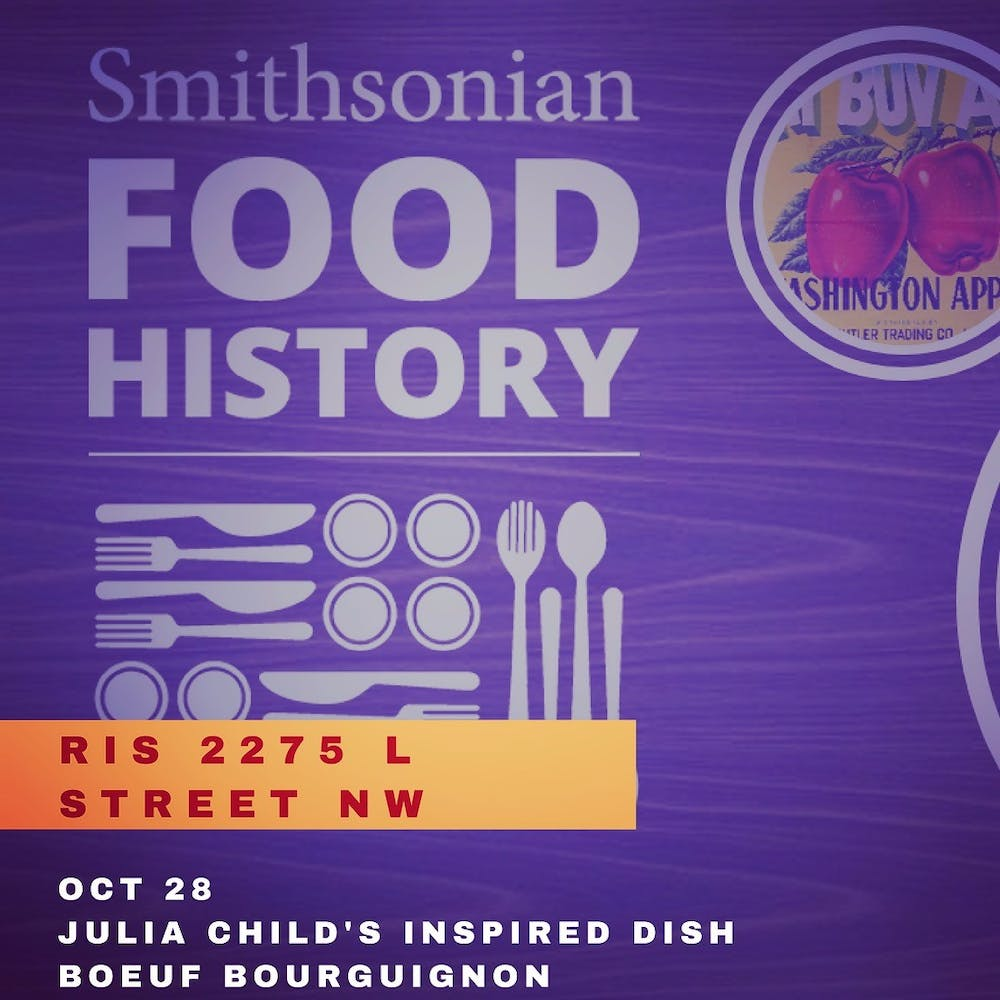Smithsonian Food History Week at ris