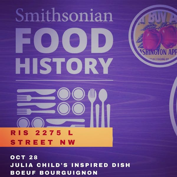 Smithsonian Food History Week at ris