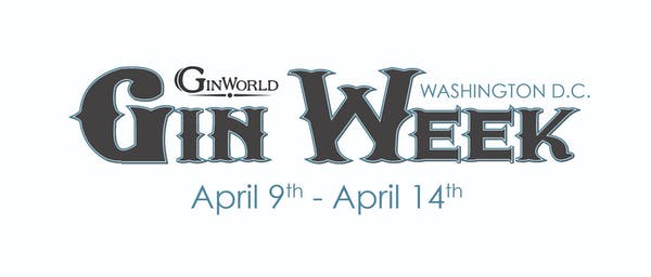 We will be a part of Gin World DC!