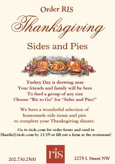 Thanksgiving Sides and Pies