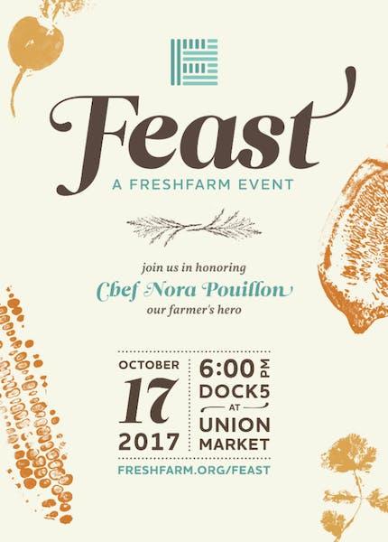 Feast at Fresh Farm Event