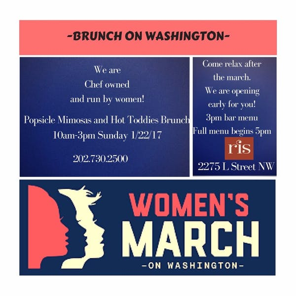 Women's March on Washington Events