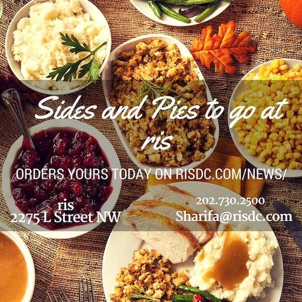 Sides and Pies at ris