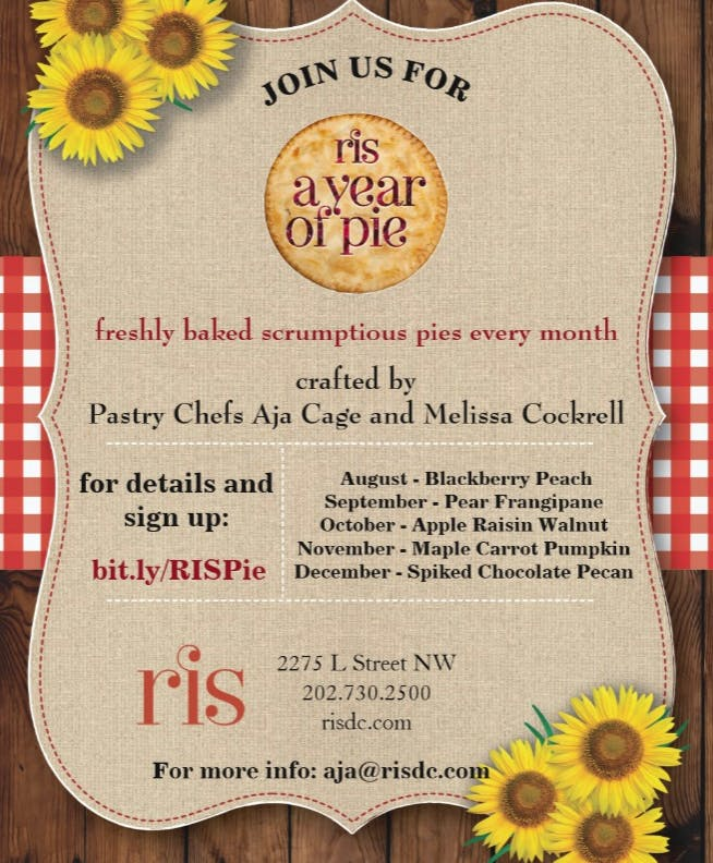 RIS a year of PIE!!