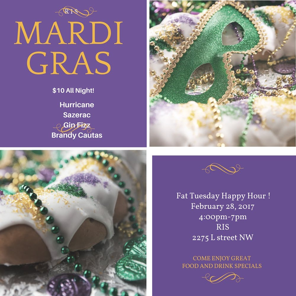 Fat Tuesday at RIS!!