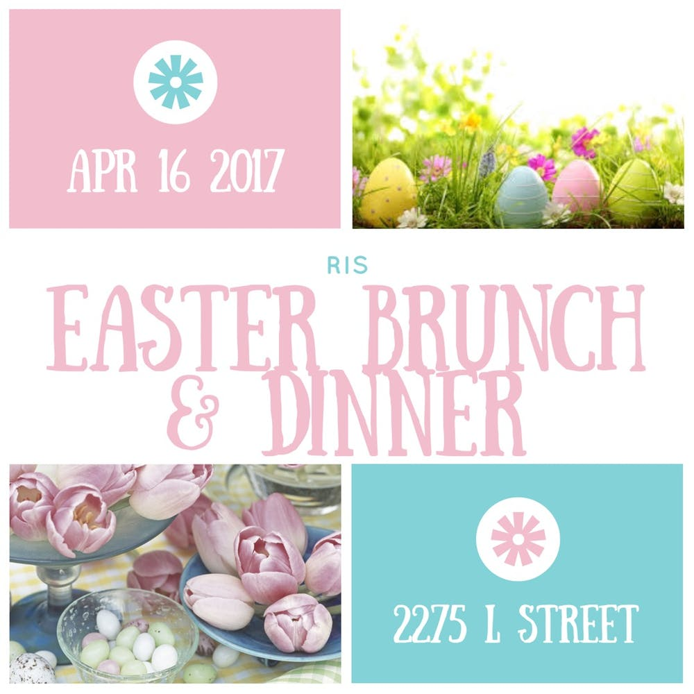 Easter Brunch and Dinner at RIS
