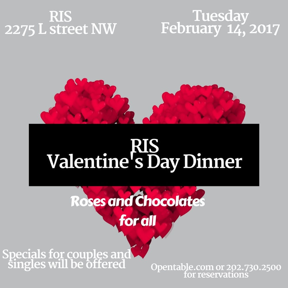 RIS Valentine's Day Dinner