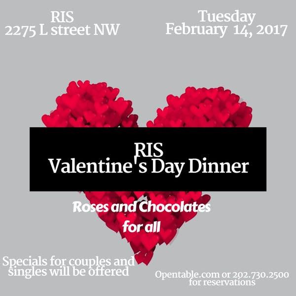 RIS Valentine's Day Dinner