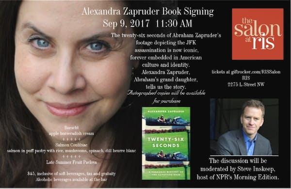 Alexandra Zapruder Book Signing