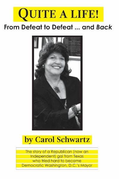 Book signing with Carol Schwartz at RIS