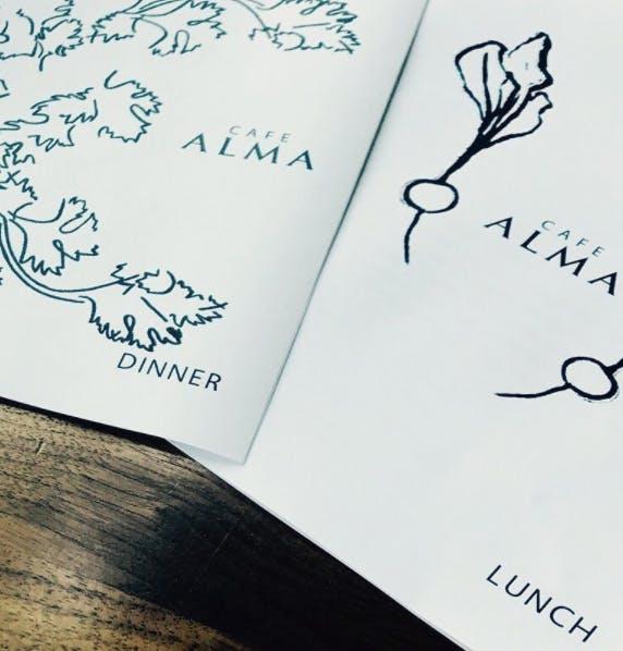 Summer menus at Alma