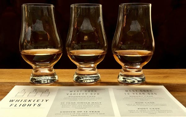 Whiskey Flight of the Month